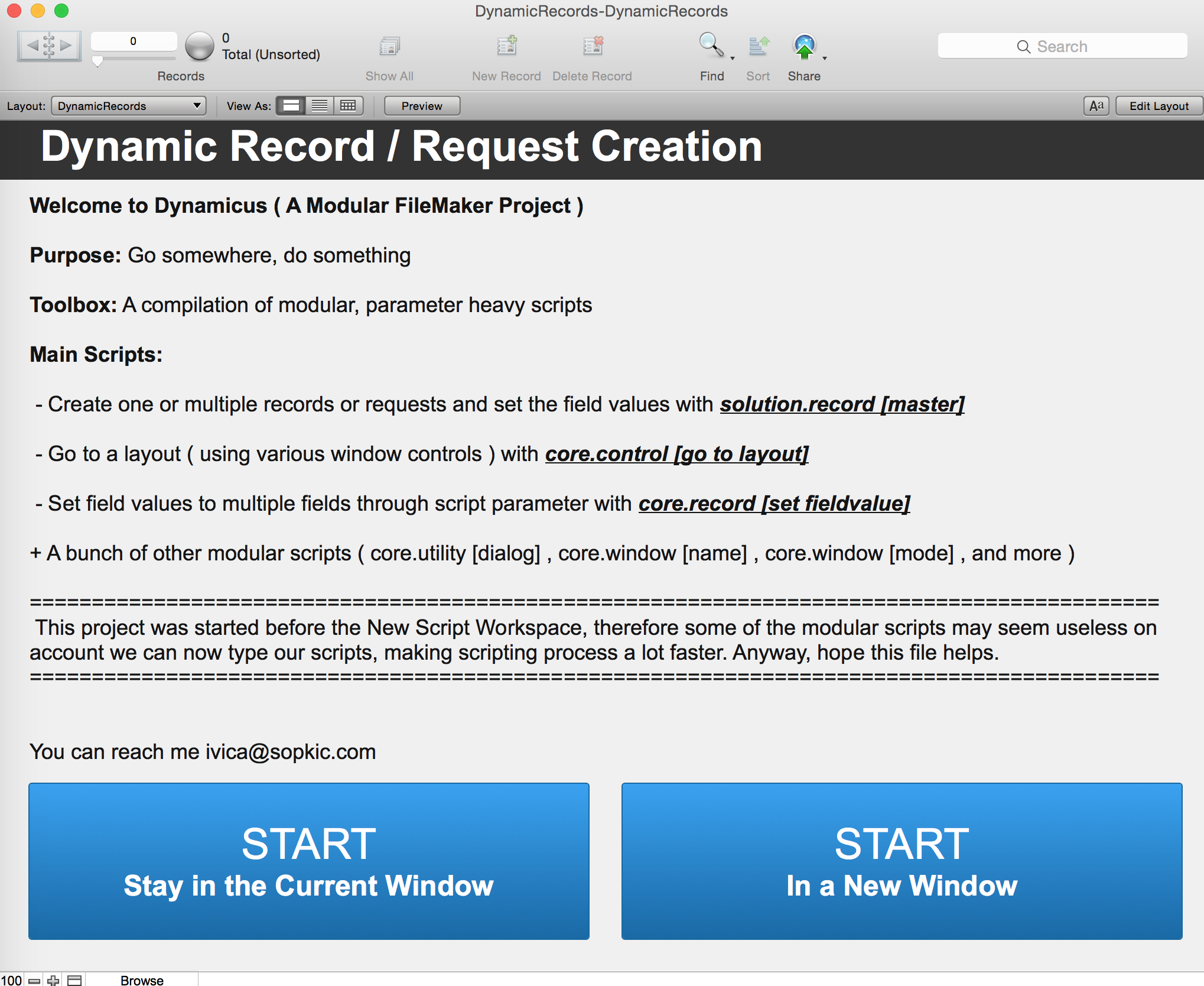 Dynamic Record Creation and Finds with FileMaker